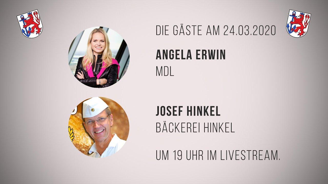 Angela Erwin und Josef Hinkel