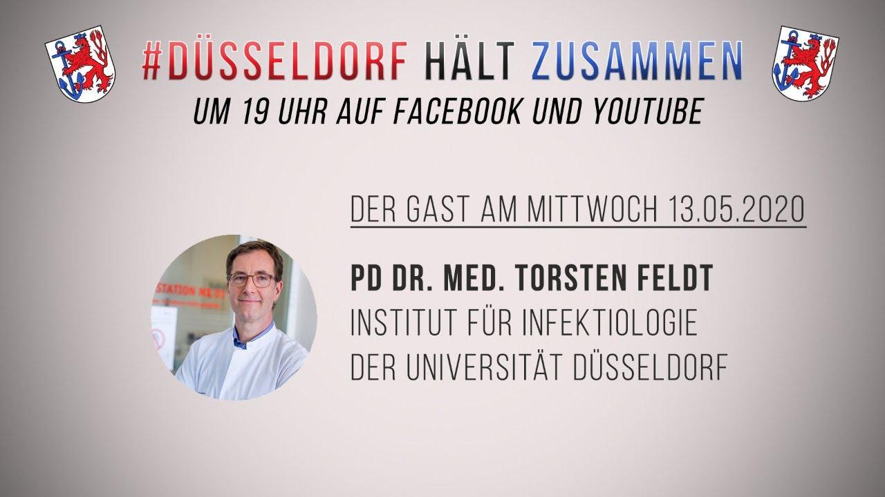 Virologe zu Gast bei Düsseldorf hält zusammen - TVGestalter.de